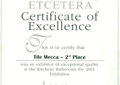 2001 Kitchen Bathrooms Etcetera