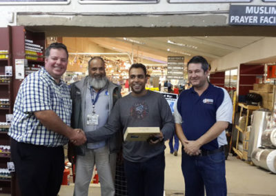PPC AWARD GIVEN TO K.CARRIM BUILDERS