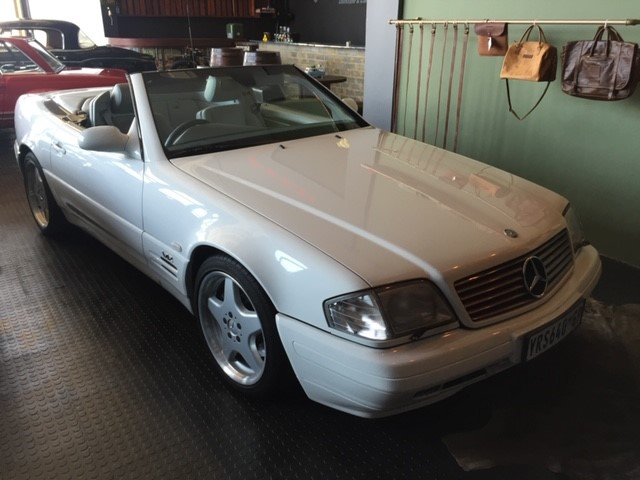 Mercedes Benz SL600